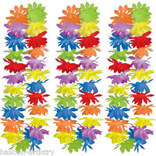 "50-PACK Tropical Summer Multicolour Hawaiian 42"" Flower Lei Fancy Dress Garland"