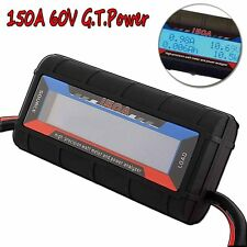 G.T.Power 150A RC Watt Meter & Power Analyzer Digital LCD Tester 12v 24v 36v U