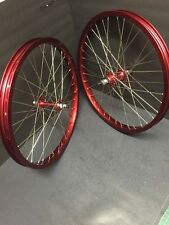 NOS *REPLICA* Anodized Red Araya 20x1.75 Rims BMX Gt Redline Hutch Se Mongoose