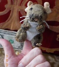 Field Mouse Finger Puppet with Cute Ears by Folkmanis Puppets T2652