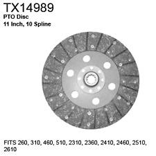 TX14989 Fiat Long Tractor Parts PTO Disc 260, 310, 460, 510, 2310, 2360, 2410, 2