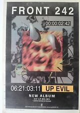 FRONT 242 Up Evil 1993 UK Poster size Press ADVERT 16x12 inches