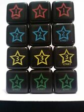 YUGIOH Dungeon Dice Monsters DDM - REPLACEMENT SET OF DUNGEONDICE (American Ver)