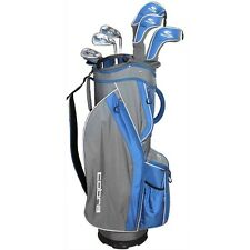 Brand New Cobra Fly Z-S Womens 8pc Golf club set Blue Irons Woods comes with bag