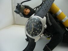 WYLER VETTA JUMBOSTAR VINTAGE DIVERS 43 MM. COMPRESSOR 200 MT NOS! FULL SET 1968