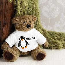 Personalised Teddy Bear -  Penguin