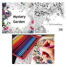 mystère anglais Adulte Secret Garden Treasure Hunt Coloriage Peinture Livre