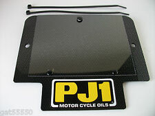 PJ1 CARBON FIBRE TRIALS NUMBER BOARD FRONT PLATE GAS GAS BETA TY MONTESA SHERCO