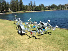AL4.8M13R Fibreglass/Inflatable Boat Trailer, suits Boats up to 5.1m, Galvanised