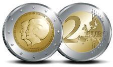 manueduc   HOLANDA  2013  2 EUROS Beatrix y Willem Alexander CONMEMORATIVOS