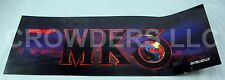 "Mortal Kombat 3 ""Midway MK3"" Arcade Marquee 26"" x 9-1/2"" Video Game Header '95"