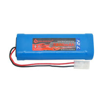 1x 3800mAh 7.2V NiMH rechargeable battery RC battery pack with Tamiya plug USA
