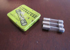 Lot Of 3 Littelfuse C-3/4A C3/4A 250V Glass Fuses