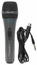 "Technical Pro MK75 Karaoke DJ Wired Microphone Mic w/ 10 ft. XLR to 1/4"" Cable"
