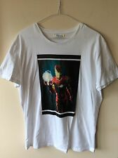 Mens White Iceberg T-shirt UK Size Xl Ironman Print Rrp £150