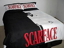 Scarface (Tony Montana) 3 Piece Queen Size Luxury Comforter Set w/Bed Sheets