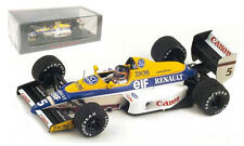 Spark S4322 Williams FW12C Winner Canadian GP 1989 - Thierry Boutsen 1/43 Scale