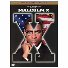 Malcolm X (1992) Like New 2-Disc Special Edition DVD Denzel Washington Spike Lee