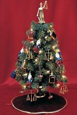 "20"" TABLETOP CHRISTMAS TREE FOR LAWYERS, JUDGES, AND PARALEGALS"