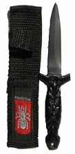 512 Straight Blade Athame Spider Boot Knife