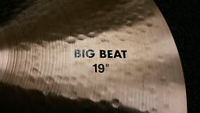 2016 Paiste Big Beat 2002 Series Big Beat 19