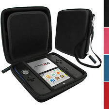 Black EVA Hard Protective Storage Case Cover with Carry Handle for Nintendo 2DS