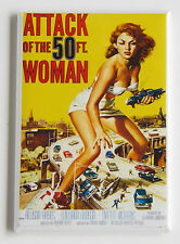 Attack of the 50 Foot Woman FRIDGE MAGNET (2 x 3 inches) movie poster horror