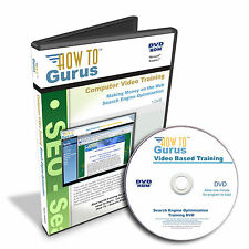 New! Search Engine Optimization Web Design Marketing SEO Training 8 hrs DVD