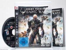 QUAKE WARS - ENEMY TERRITORY  - dt. Version - +Playstation 3 Spiel+ #1