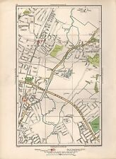1936 LARGE SCALE MAP -  LONDON WOODFORD SOUTH WOODFORD CLAYHALL PARK WANSTEAD