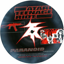 "Atari Teenage Riot 'Paranoid' | Asian Dub Foundation Split 7"" picture disc Mint"