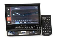 "NEW Pioneer AVH-X6700DVD DVD/CD/MP3 Player 7"" Flip Up LCD MIXTRAX AppRadio Mode"