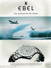 Publicité Advertising 1997 La Montre Ebel Sportwave