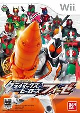 Brand new Nintendo Wii Kamen Rider Climax Heroes Fourze