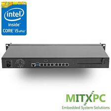Intel Core i5-6500 Q170 Mini 1U Rackmount Server w/ 8 x Intel LAN , RS-JNF592VI5