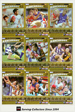 2006 AFL Teamcoach Trading Cards How To Play Team set North Melbourne (9)