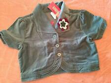 NWT Gymboree Pretty in Plums Teal Cropped Bolero Corsage Jacket Girls Sz 8 Rare