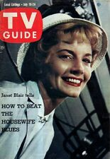 1959 TV Guide July 18 - Leave it to Beaver, Jerry Mathers; Janet Blair; Today