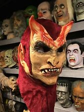 RARE! RED LUCIFER vintage BSS Halloween Mask Be Something Studios not Don Post