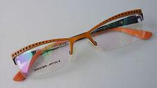Designer Brillenfassung Damen Style Oscar+Fitch extravagant Nylor orange Gr.S