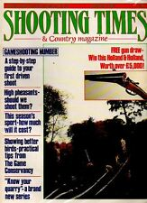 Shooting Times & Country Magazine - October 1-6 1987