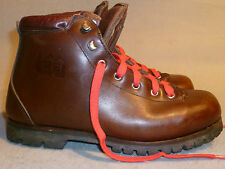 Vintage REI Made in ITALY Hiking Mountaineering Padded Leather Boot Mens 7.5