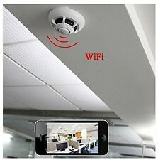 UFO WiFi HD SPY Hidden Camera Smoke Detector Video Recorder For iPhone & Samsung