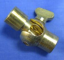 Brass ball knuckle joint