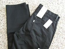 NEW LEVIS 511 SLIM FIT BLACK JEANS MENS 34X34  STYLE: 131510007  FREE SHIP