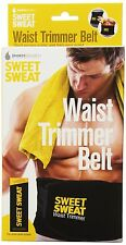 Sweet Sweat Premium Waist Trimmer 1-size-fits-all. Includes Free Sample of Sweet