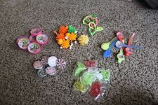 Lot B 36 plastic Kid Party Goody Loot Bag Filler Favors Supply 6 ea of 6 items