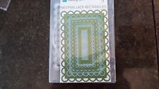 LIFESTYLE CRAFTS NESTING LACE RECTANGLES