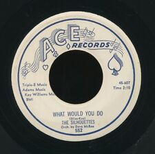 SILHOUETTES 1958 I Sold My Heart To The Junkman ACE 45  (Hear it!)