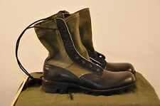 USGI JUNGLE COMBAT BOOTS - WELLCO - SIZE 13.5 N - 1985 DATED - UNISSUED